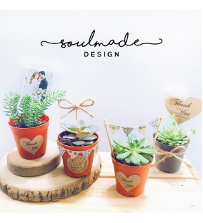 Mini Plant Pots (Wedding Series)