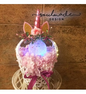Limited Edition Unicorn Flower Basket